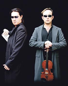 Aleksey Igudesman and Hyung-ki Joo