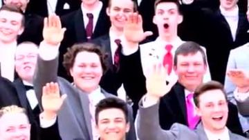 'It's not what we meant': teen in 'Nazi salute' photo