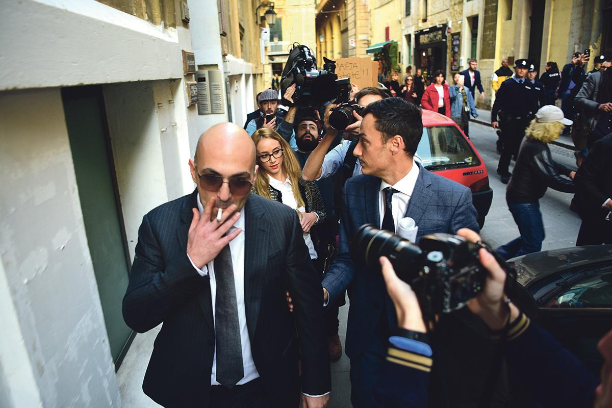 A 'drunk' Yorgen Fenech gave the go-ahead to continue the assassination on the day Labour returned to power in June 2017. Photo: Mark Zammit Cordina