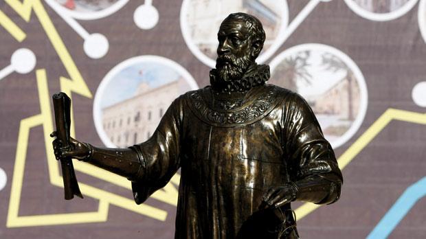 The statue of Grand Master Jean de Valette in Valletta. Photo: Darrin Zammit Lupi