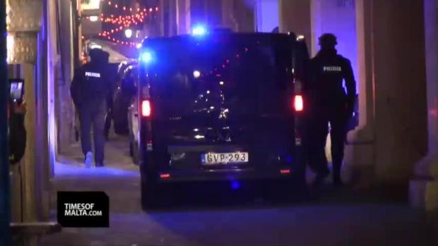 Watch: Three accused of Daphne Caruana Galizia murder as widower looks on