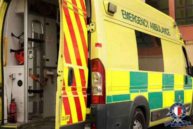 Car crashes into container, 17-year-old girl seriously injured