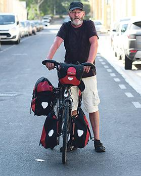 Theo Koning, who has just moved to Malta, was shocked by the number of cars here. Photo: Jonathan Borg