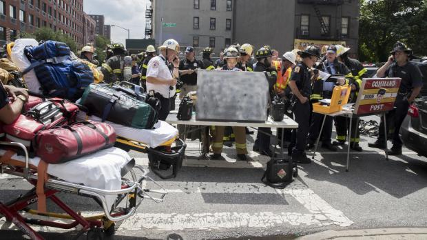Accident in NY  subway: injured more than 30 people