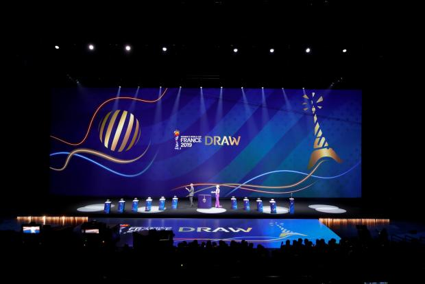 Group-stage draws for the 2019 FIFA Women's World Cup in France were made on Saturday