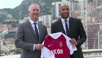 Watch: Henry hopeful playing success rubs off on Monaco | Video: AFP
