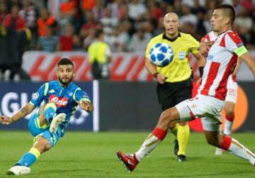 Debutants Red Star hold Napoli