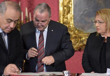 Ombudsman Anthony Mifsud (left) has lamented parliament's inaction on a number of investigation reports.