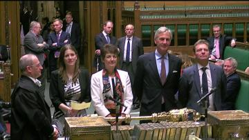 British MPs pass law to block no-deal Brexit