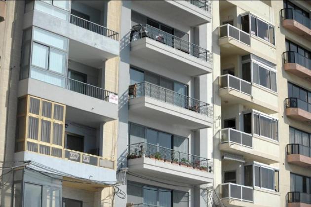 To rent: Ta' Xbiex, Valletta most expensive; Rabat, Mqabba, Gozo cheapest