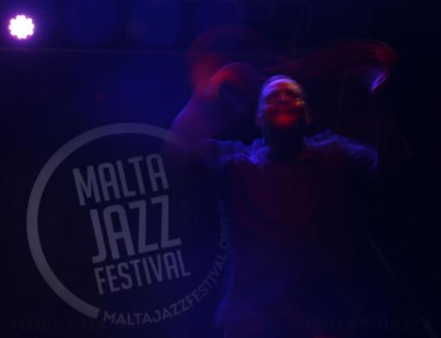 Snarky Puppy keyboardist Shaun Martin performs during the Malta Jazz Festival in Valletta on July 23. Photo: Darrin Zammit Lupi