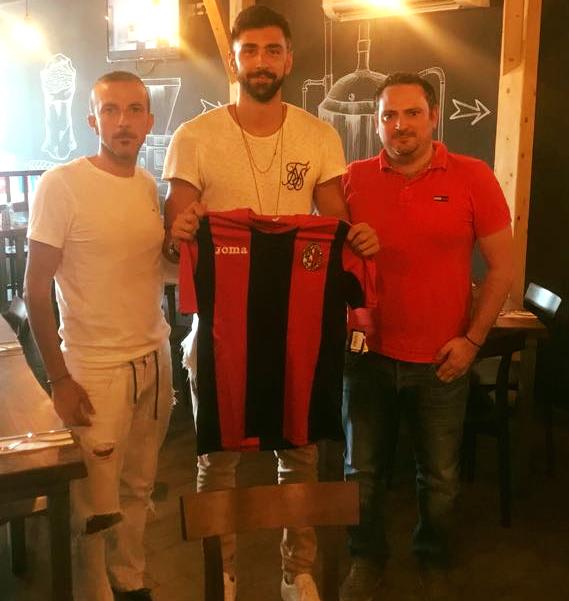 Orestis Nikolopoulos will form part of Ħamrun Spartans' side next season. Photo: Ħamrun Spartans