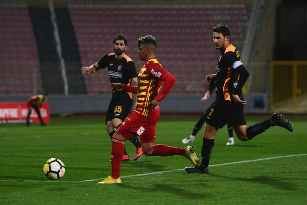 Ħamrun Spartans defeated Birkirkara to maintain their European hopes alive. Photo: Jonathan Borg
