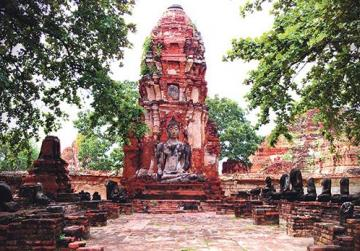 Ayutthaya Jungle Temple in Thailand.
