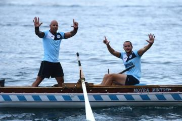 Cospicua were in a class of their own as they secured double victory at the Victory Day Regatta. Photo: Jonathan Borg