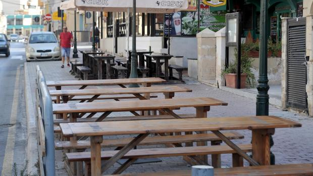 Pavement cafes' dangers are being ignored