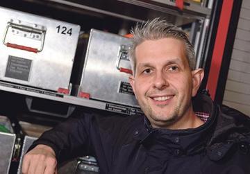 Head of rescue, Stefan Scheller.