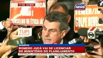 Brazil minister steps aside over 'corruption plot' recording