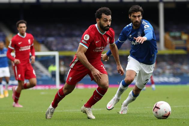 Late VAR call denies Liverpool in derby draw against Everton
