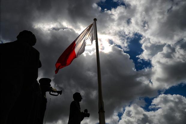 Freedom Day celebrations on March 24. Photo: Jonathan Borg