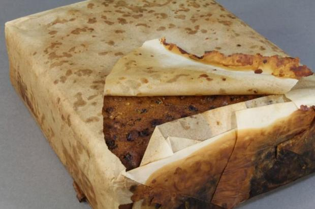 100-year-old fruitcake found in Antarctica, and it's still edible