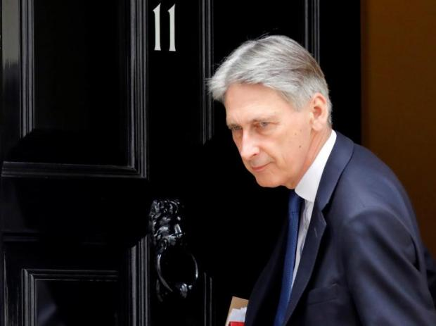 Britain's Chancellor of the Exchequer, Philip Hammond. Photo: Reuters