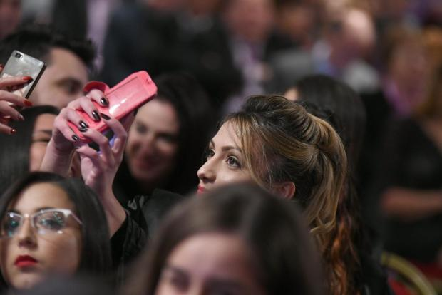 An Mcast graduate takes a selfie during a ceremony held in Paola on December 6. Photo: Jonathan Borg