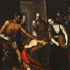 Beheading of St John the Baptist, attributed to Cassarino.