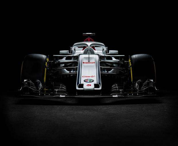 The new Sauber car was unveiled on Tuesday.