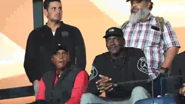 Watch: Michael Jordan attends Paris Saint Germain's match | Video: AFP