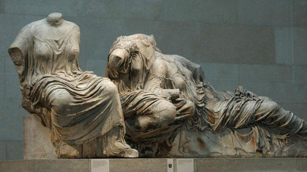 parthenon marbles essay What does the parthenon mean  a gleaming marble temple to the goddess of  wisdom—appeared designed to represent everything we have.