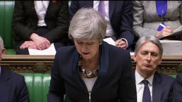 British PM says parliament can vote on any Brexit delay