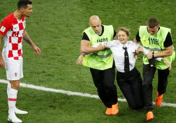 World Cup final pitch intruder jailed for 15 days