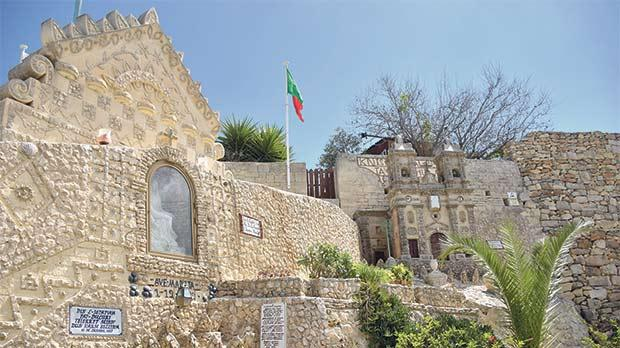 The site where the feast of the Madonna tal-Ġebla l-Kbira is being celebrated today.