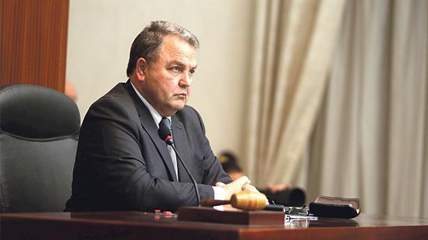 Speaker Anġlu Farrugia