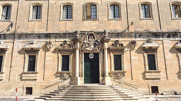 The Curia in Floriana: The Safeguarding Commission of the Archdiocese of Malta, tasked with investigating clerical sexual abuse claims, said it was looking into the matter. Photo: Chris Sant Fournier