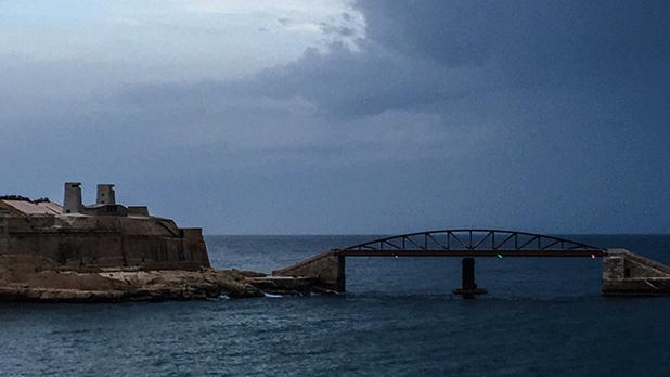 Harbour bridge. Photo: Adrian Farrugia