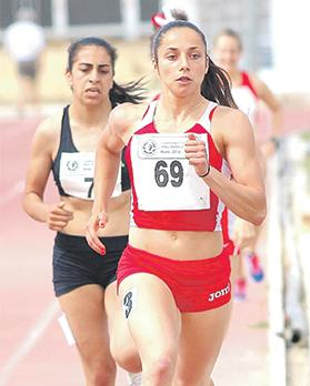 Aiming high... Francesca Borg's ultimate dream is to represent Malta in the Olympic Games. Photo: Wally Galea