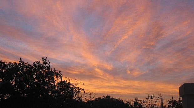 Sunset as seen from Kunċizzjoni Heights overlooking Fomm ir-Riħ.