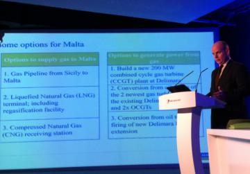 Consultant Thomas Leonard discusses the power options for Malta.