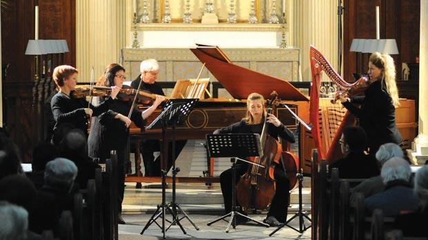 Passacaglia Ensemble at Ta' Ġieżu church.