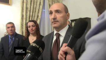 Watch: Minister admits fresh talks with Steward Healthcare, then walks out | Video: Mark Zammit Cordina