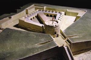 Scale models of Fort Manoel and Fort Tigné. The model of Fort Manoel took a whole year to build and was constructed by Richard Azzopardi under Mr Spiteri`s direction.