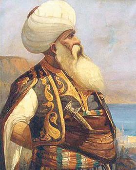 Turgutreis. Painting by Ali Sami Boyar