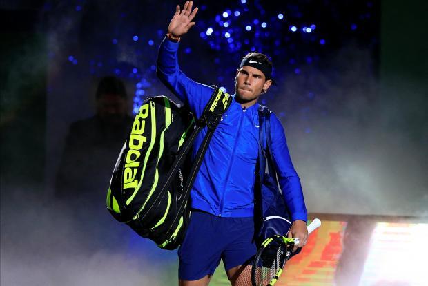 Rafael Nadal of Spain.