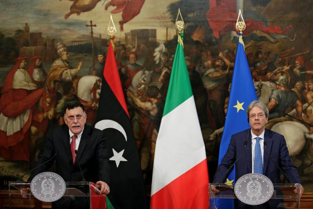 Italian Navy may combat human traffickers with Tripoli, PM
