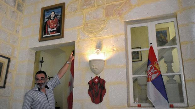 Chev.Saviour Garcia. Photos:Mark Zammit Cordina
