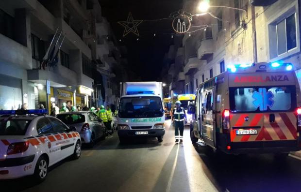 The incident happened in Triq ir-Rebħa, Gżira.