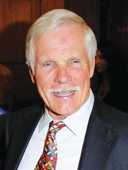 Ted Turner. Photo: Ian West/PA Wire