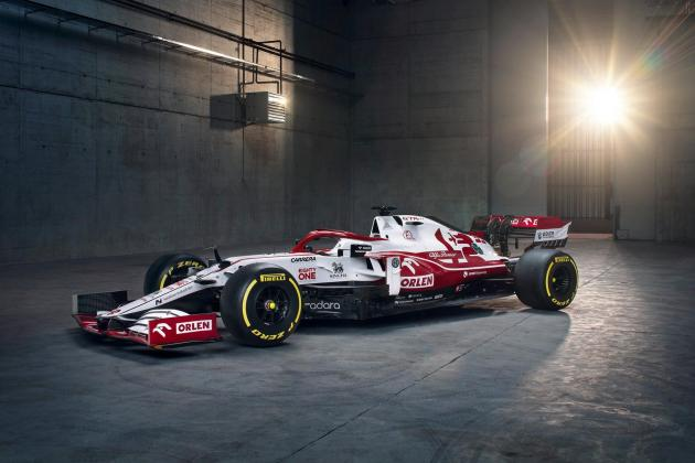 Raikkonen ready for F1 season as Alfa Romeo launch new car